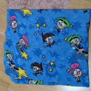 🔥3/30🔥 Y2K Fairly Odd Parents Throw Blanket